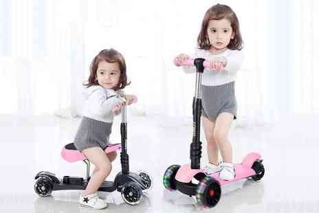 CnDirectBiz - Kids outdoor toy scooter with colour options - Save 63%