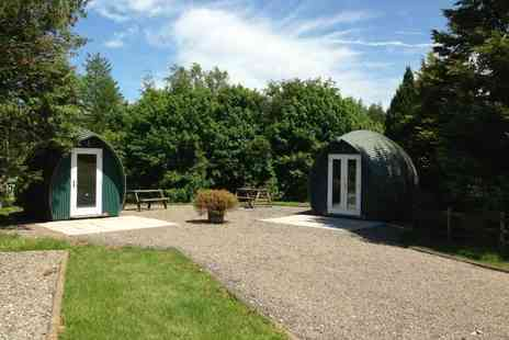 Gill Head Farm - Two nights Lake District glamping break in a wooden camping pod for two people - Save 39%