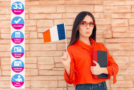 New Skills Academy - Accredited French language course - Save 76%