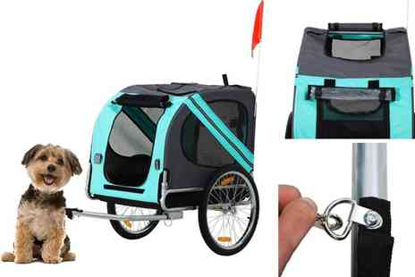 Mhstar - Pet bike carrier trailer - Save 52%