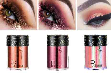 GetGorgeous - Shimmering eye shadow pigment pots Choose from three colours - Save 62%