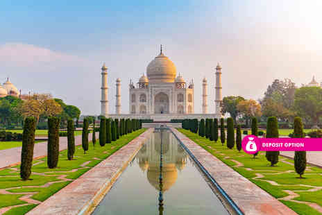 Weekender Breaks - Seven nights India Golden Triangle Tour with accommodation breakfast selected excursions transfers and flights - Save 35%