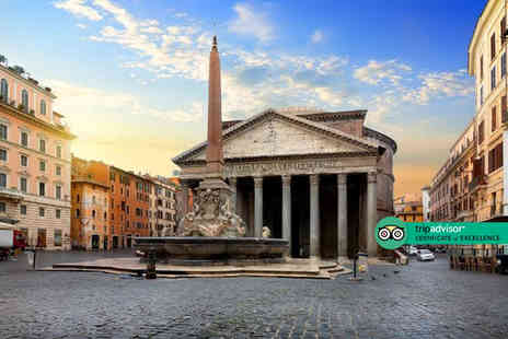 Crystal Travel - Two nights Rome holiday with breakfast and return flights - Save 45%
