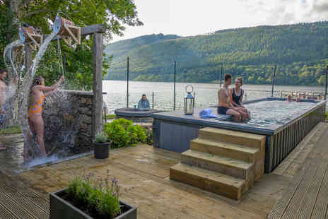 Taymouth Marina - Entry to Hotbox Outdoor Spa and lunch for two - Save 54%