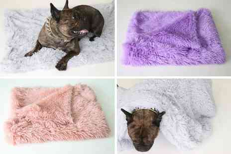 hey4beauty - Small plush pet kennel blanket - Save 83%