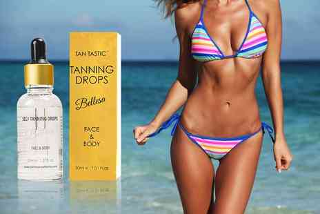 Forever Cosmetics - 30ml bottle of self tanning drops - Save 50%