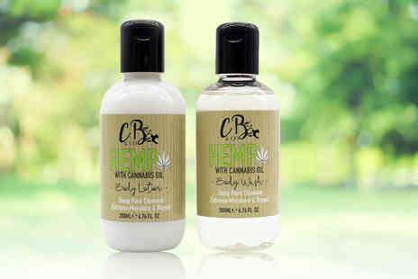 Cougar Beauty Products - 200ml hemp body lotion or body wash Maintain silky skin - Save 54%