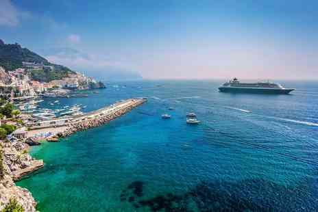 Super Escapes Travel - Seven nights full board Mediterranean cruise including flights with stays in Genoa and Lisbon - Save 38%