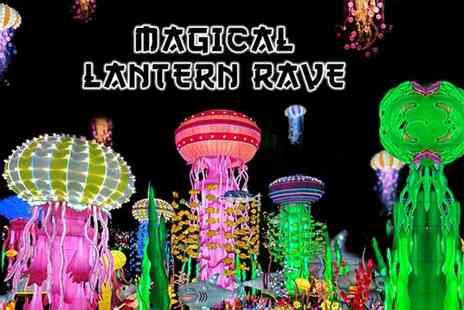 Mega Events - Standard ticket to the Magical Lantern Rave, VIP ticket including fast track entry and two Led light balloons - Save 40%