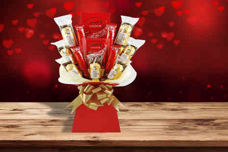 KNPH - Luxury Valentines Ferrero and Lindt chocolate bouquet - Save 56%