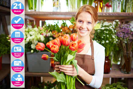 New Skills Academy - Accredited floristry diploma - Save 84%