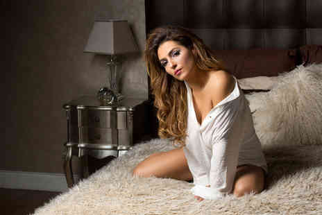 Boudoir - Dudoir photoshoot experience with two prints, a digital image and vouchers worth £100 - Save 96%