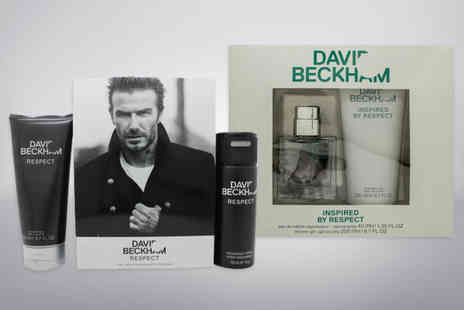 Wowcher Direct - David Beckham Respect gift set - Save 0%