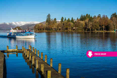 Newby Bridge Hotel - Overnight Lake District getaway with dinner breakfast leisure access and Windermere cruise - Save 57%