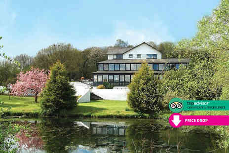 Damson Dene Hotel - Overnight Lake District break for two with breakfast dinner leisure access and a Lake Windermere cruise - Save 43%