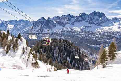 Cortina Family Resort & Spa - Family Friendly Ski Resort in Stunning Cortina d Ampezzo for two - Save 80%