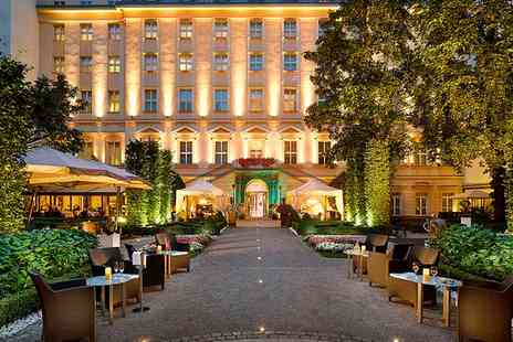 The Grand Mark Prague - Five Star Baroque Luxury in the City Centre with a Gourmet Experience for two - Save 68%