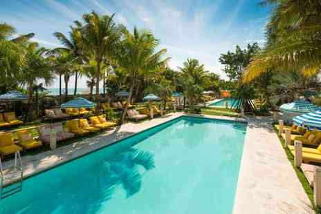 The Confidante Miami Beach - Four Star Stylish South Beach Hotel & Optional Cruise to Paradise Beaches for two - Save 78%