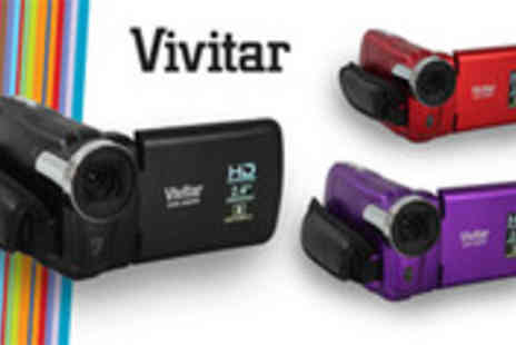 Sonic UK - Vivitar Digital Video Recorder in a choice of colours - Save 55%