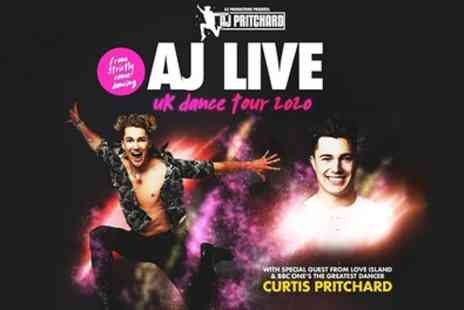 AJ Pritchards AJ Live 2020 - One ticket from 5th To 20th March - Save 26%
