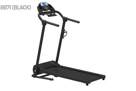 Bright Associates - Foldable Motorised Running Machine Choose from 8 Models - Save 48%