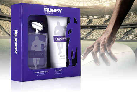 Icon Partnership - Rugby fragrance eau de toilette and body wash gift set - Save 48%