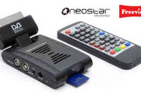 MySmartBuy.com - Mini Scart Freeview Digital TV Receiver and Recorder - Save 50%