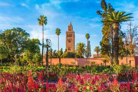 Bargain Late Holidays - Escape with a two, three or four nights getaway to Marrakech Now with the ability to book your flights - Save 0%