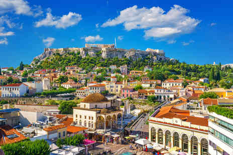 Travel Center - Escape with a two, three or four nights getaway to Athens Now with the ability to choose your flights - Save 0%