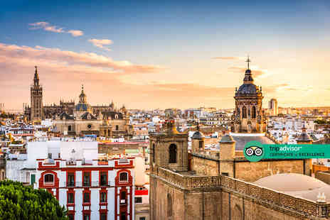 Travel Center - Escape with a two, three or four nights getaway to Seville Now with the ability to choose your flight - Save 0%