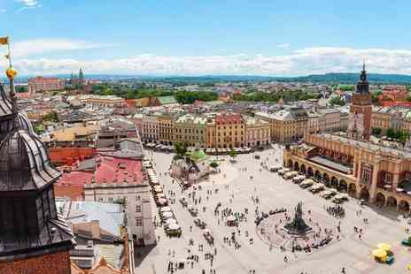 Bargain Late Holidays - Escape with a two or three nights getaway to Krakow Now with the ability to choose your flight - Save 0%