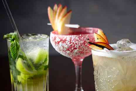 The Clock N8 - Three cocktails to share - Save 44%