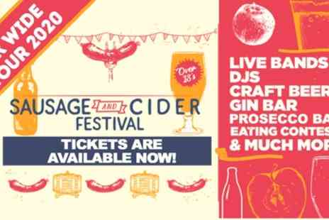 Sausage and Cider Festival - One general admission ticket from 15th Februrary To 11th April - Save 0%
