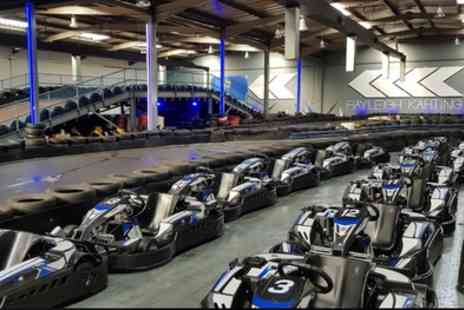 Rayleigh Karting - 20 Minutes of Go Karting Track Time for One or Two - Save 15%