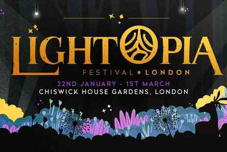 Outreach Creative - Lightopia at Chiswick House and Gardens - Save 30%