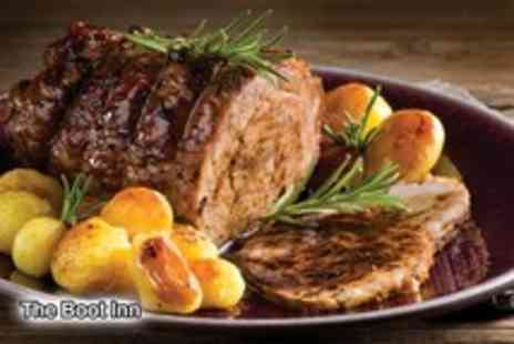 The Boot Inn - Sunday lunch for 2 including a liqueur coffee each - Save 63%