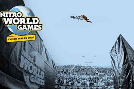 Nitro World Games 2020 - One Price Level 1, 2 or 3 Weekend Ticket from 23rd To 24th May - Save 25%
