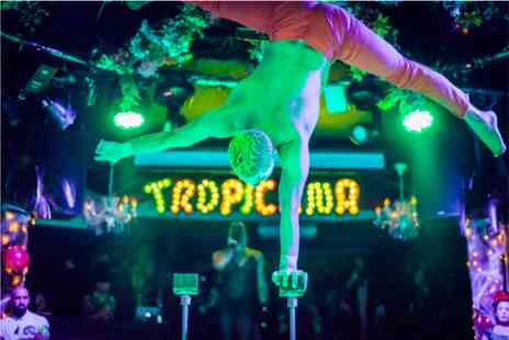 Virgin Experience Days - The Tropicana Cabaret Show with Three Course Dinner and Cocktail for Two - Save %