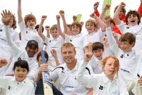 The Andrew Flintoff Academy - Three Day Childrens Cricket Coaching - Save 0%