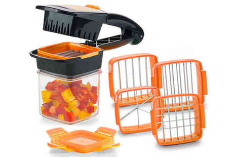 Pricebuster - 5 in 1 vegetable cutter - Save 59%