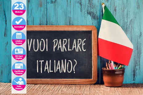 New Skills Academy - Accredited Italian language course - Save 84%