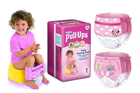 Avant Garde - Three packs of large Huggies pull ups - Save 60%