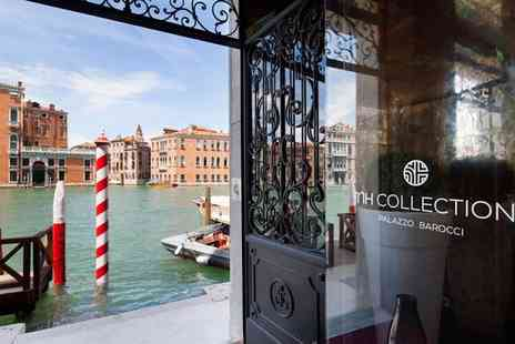 NH Collection Palazzo Barocci - Four Star Palatial Property Overlooking the Grand Canal for two - Save 73%