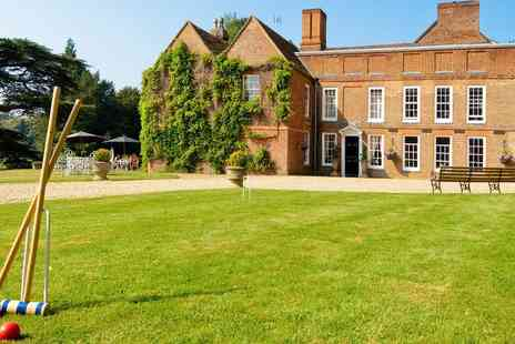 Hallmark Hotel Flitwick Manor - Afternoon tea for 2 at lovely manor house in Beds - Save 30%