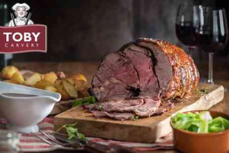 Toby Carvery - Two Course Carvery Meal for Two - Save 39%