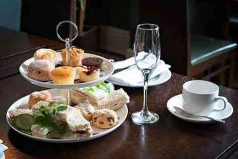 Clayton Crown Hotel - Afternoon tea for two people with a bottle of Prosecco to share - Save 0%