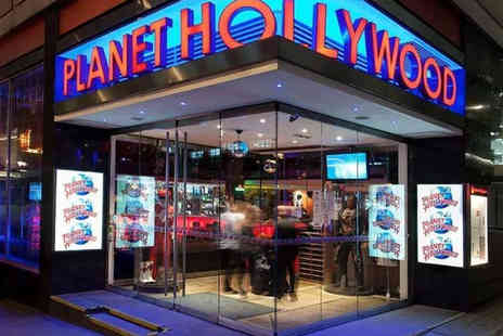 OMGhotels - Overnight London stay with breakfast and Planet Hollywood dining - Save 0%