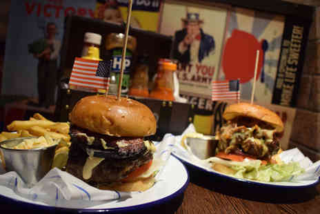Propaganda - Burger, fries and cocktail each for two people - Save 68%