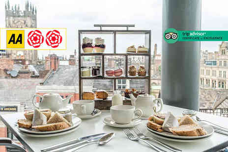 The Second Floor Brasserie - Afternoon tea for two people with a gin cocktail each - Save 35%