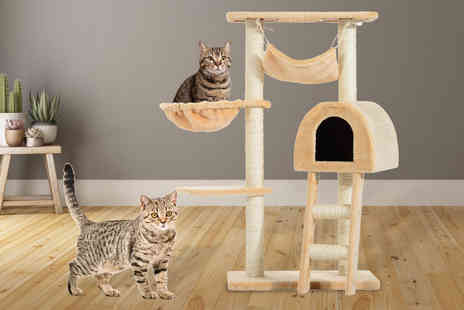 Mhstar - Cat tree scratching activity centre - Save 60%